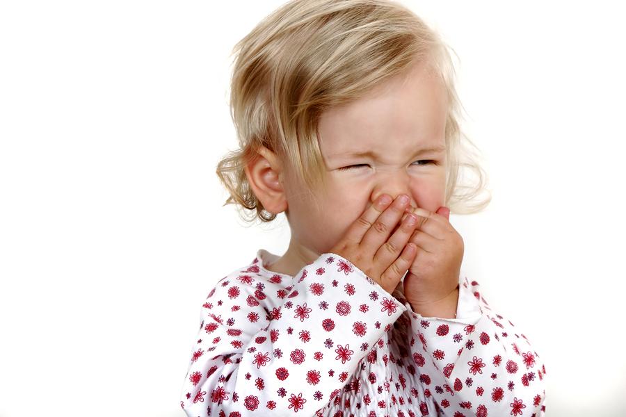 Çocuklarda burun tıkanıklığının belirtileri