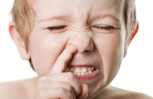 çocuğun burnuna kaçan yabancı cisim