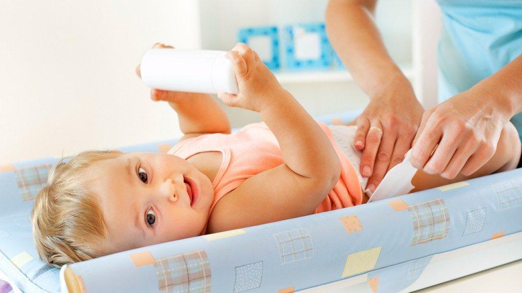 bebeklerde temizliği